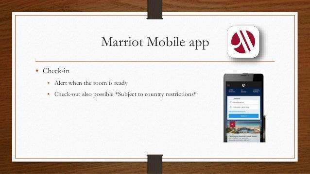 Marriot Room Service App