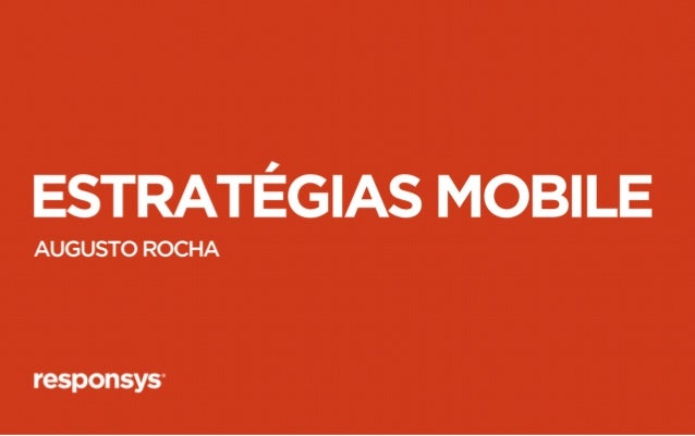 Fast tracks: E-Mail Marketing para Mobile - Augusto Rocha
