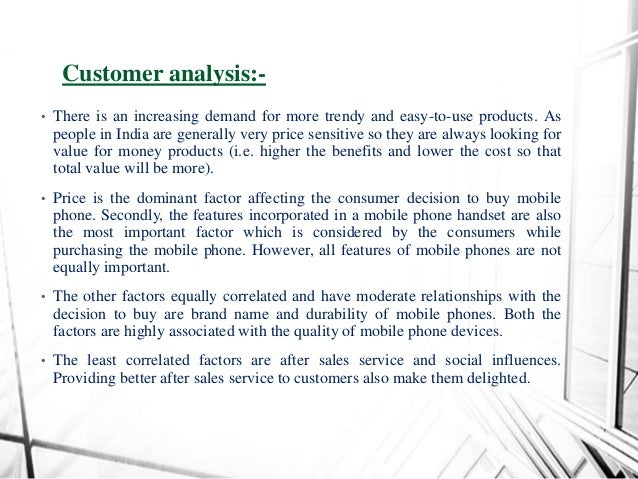 market analysis of mobile handsets subsidies
