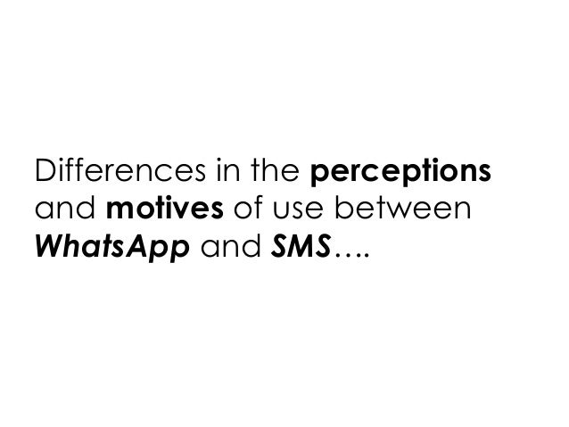 WhatsUp With WhatsApp? Comparing Mobile Instant Messaging