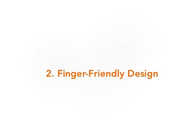 Mobile Interaction Design - 行動世界裡的互動設計之 7 言心旅