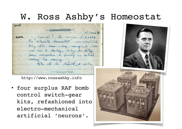 Ashby's Mobile homeostat Slide 2