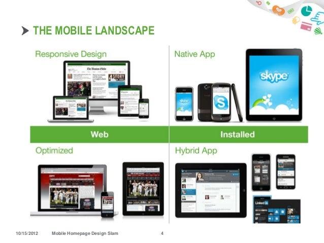 ... Mobile Homepage Design Slam 3; 4.