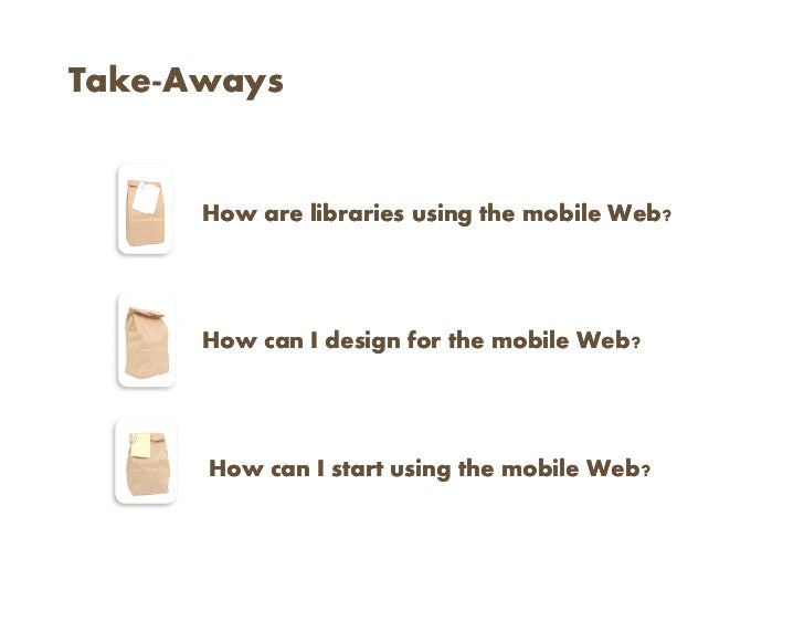 Libraries to Go: Mobile Tech in Libraries Slide 2