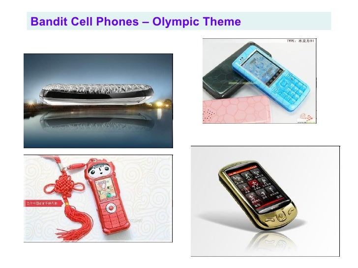 Bandit Cell Phones – Olympic Theme