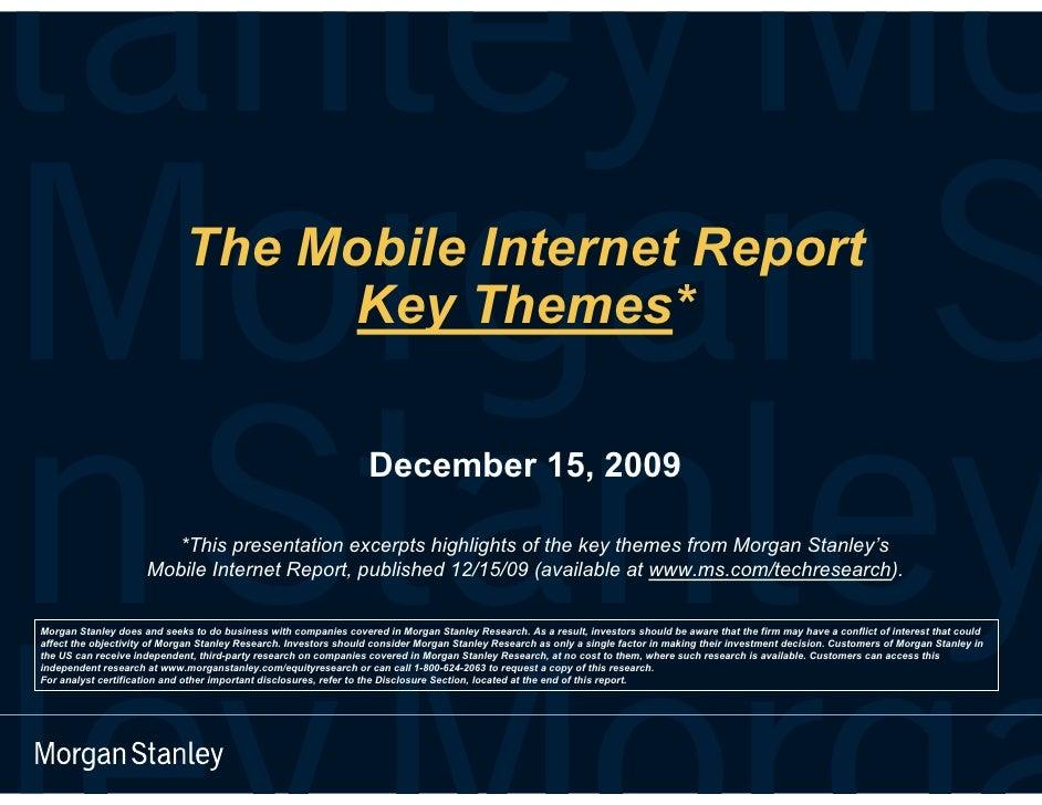 Mobile Internet Report Key Themes Final