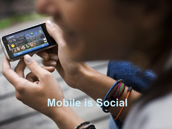 Mobile is Social