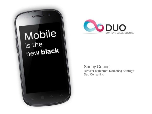 Sonny CohenDirector of Internet Marketing StrategyDuo Consulting