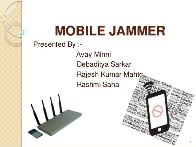 Cell Phone Jammer >> Mobile jammer