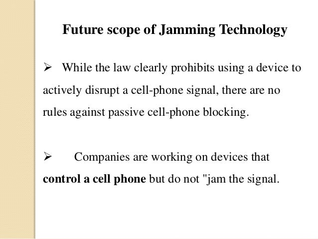 Anti jammer mobile - mobile jammer device companies
