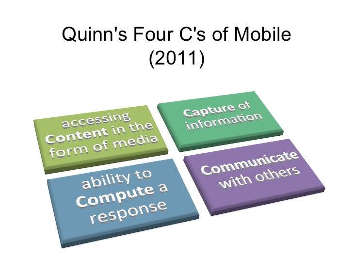 Quinns Four Cs of Mobile         (2011)