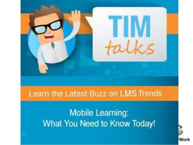 Mobile  Learning:  3 Reasons  3 Case Studies  3 To dos  Charles DeNault  cdenault@saba.com  @mathchuck  Sr. Director of Pr...