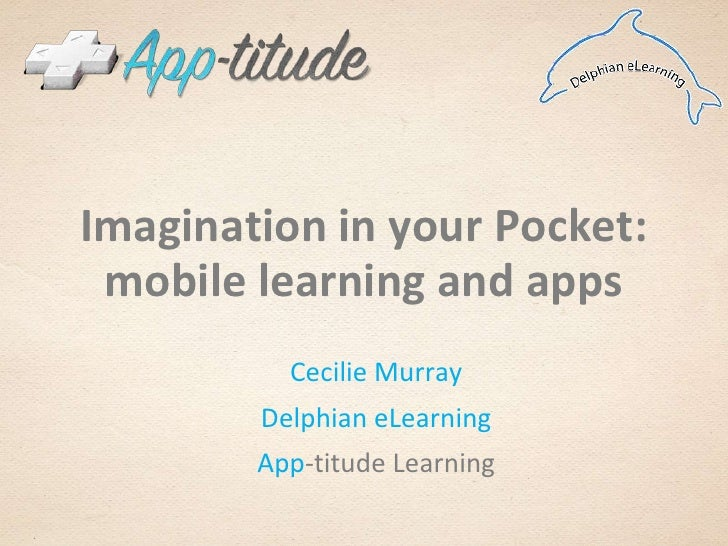 Mobile learning & apps