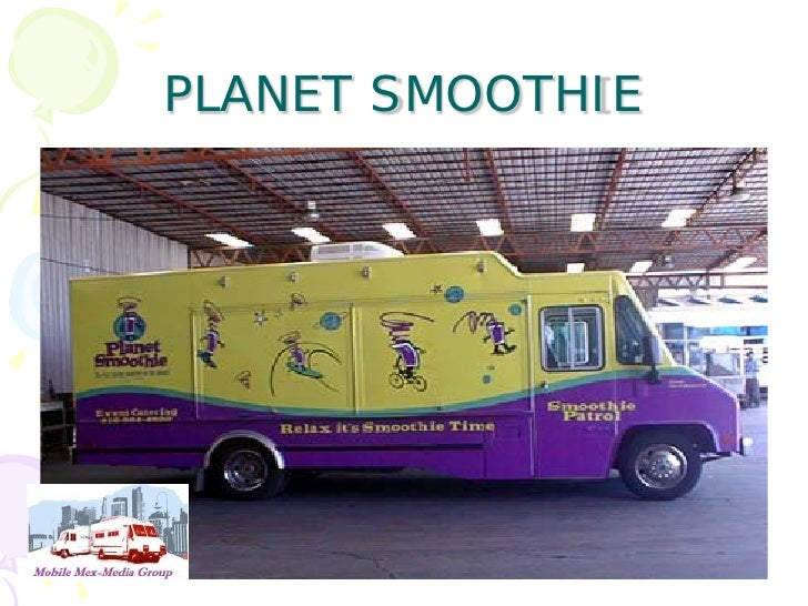 Smoothie Planet Food Truck