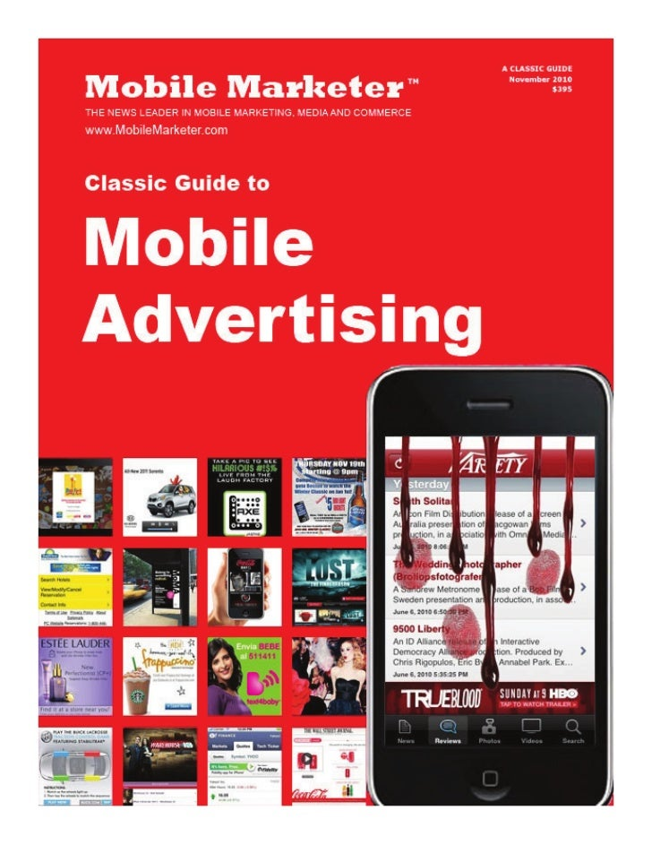 Beyond the mobile ad: Creating content depthBy Rich AbronsonI    f mobile is not already an active portion of an adver-   ...