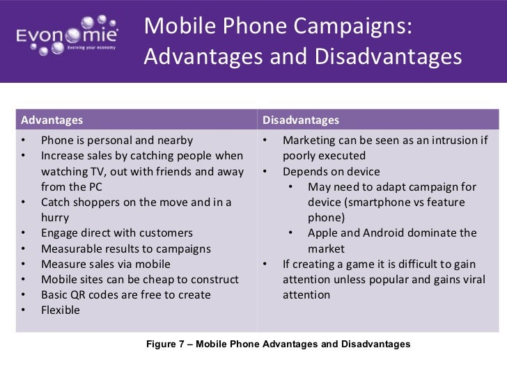 Advantage and disadvantage of mobile phones essay