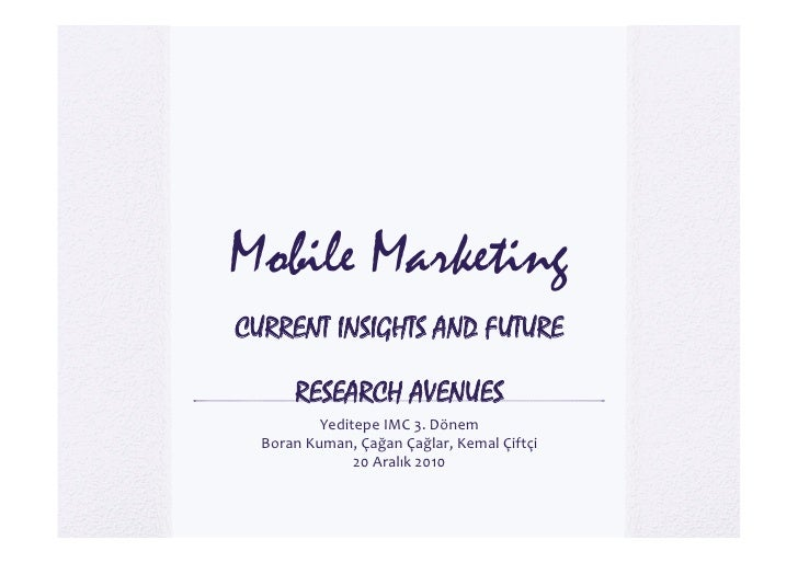 mobile marketing current issues Hotel sales and marketing: key trends and issues 1 1  marketing in a social, local and mobile  10 hotel sales and marketing: key trends and issues.
