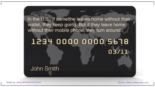 In the U.S., if someone leaves home without their wallet, they keep going. But if they leave home without their mobile pho...