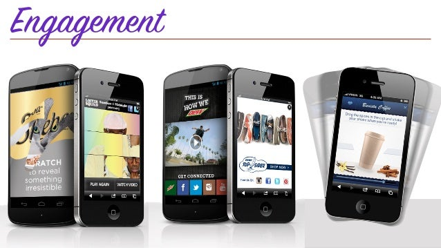Mobile Advertising • Native Ads: A growing trend and possibly the future of the majority of mobile advertising. 70% of ind...