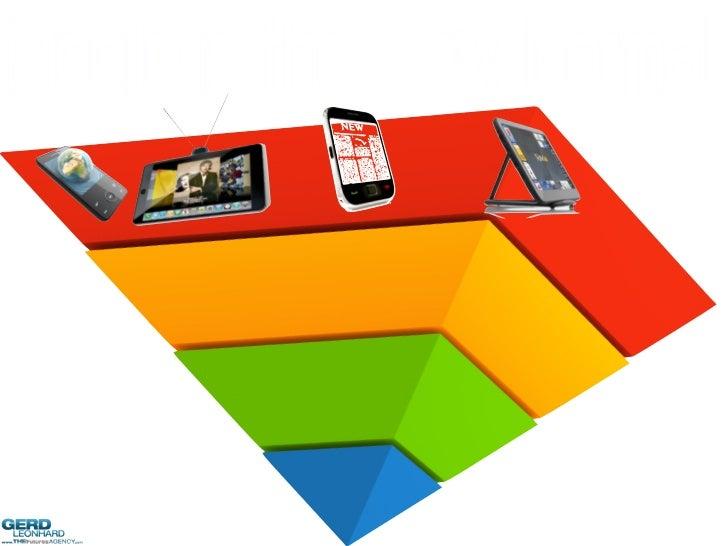 Mobile Marketing Futures: Futurist Gerd Leonhard @ MMA CEO/CMO Summit Slide 2