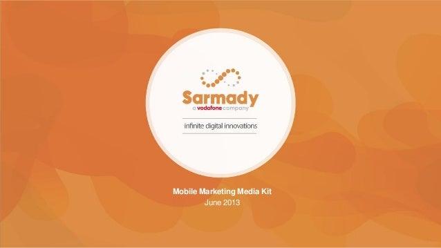 Mobile Marketing Media Kit June 2013