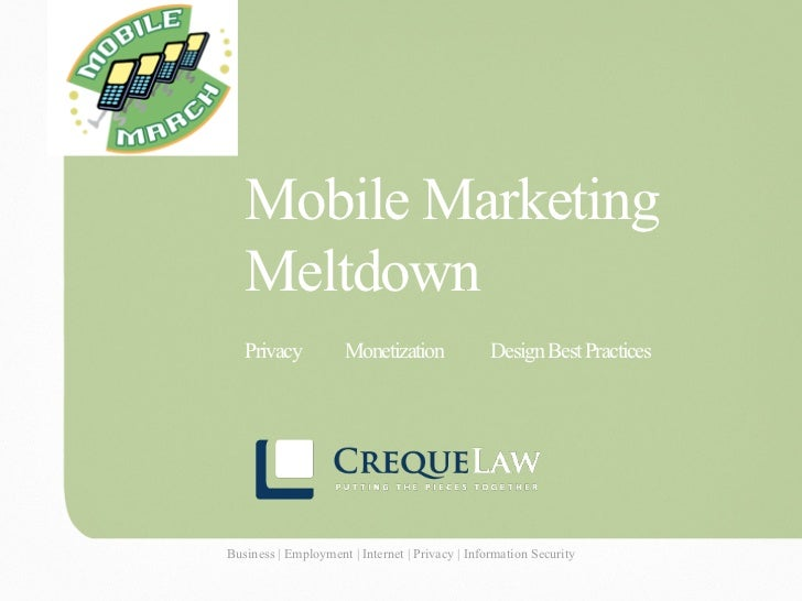 Mobile Marketing                                   Meltdown                                   Privacy                 Mone...