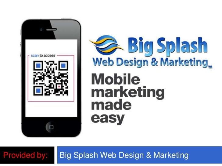 Provided by:   Big Splash Web Design & Marketing