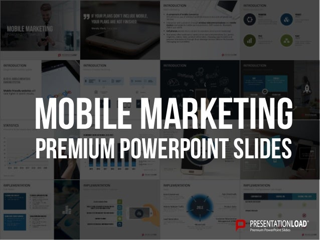 Mobile Marketing Ppt Template