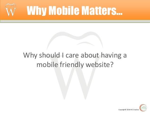 Mobile Matters (Dr. Ronald S Wright Jr.) Slide 3