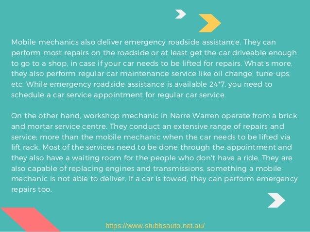 Mobile Mechanic Vs Garage Mechanic Whom To Choose