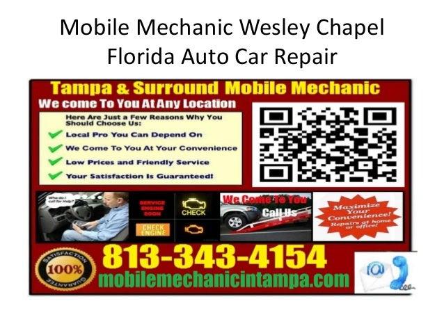 Mobile Mechanic Wesley Chapel Florida Auto Car Repair