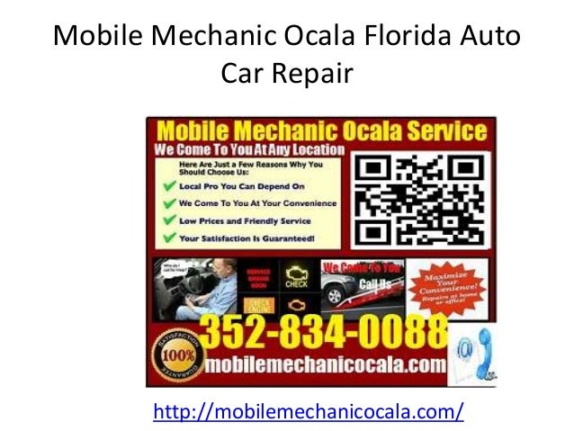 Mobile Mechanic Ocala Florida Auto Car Repair http://mobilemechanicocala.com/
