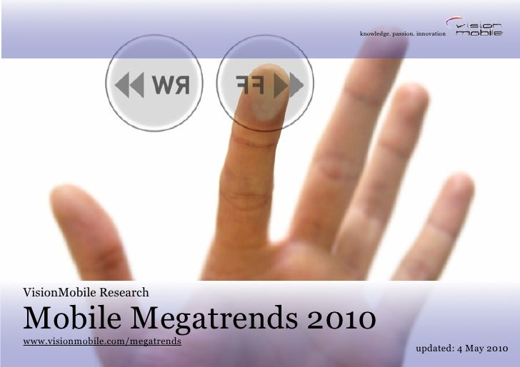 Mobile services market analysis by VisionMobile