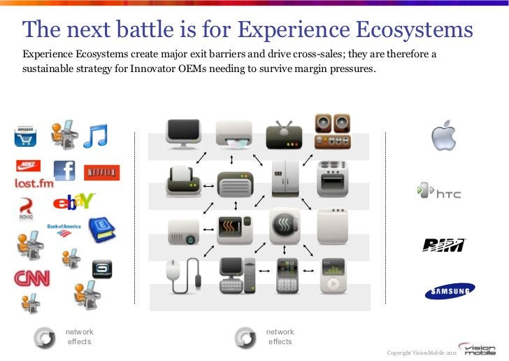 The next battle is for Experience EcosystemsExperience Ecosystems create major exit barriers and drive cross-sales; they a...