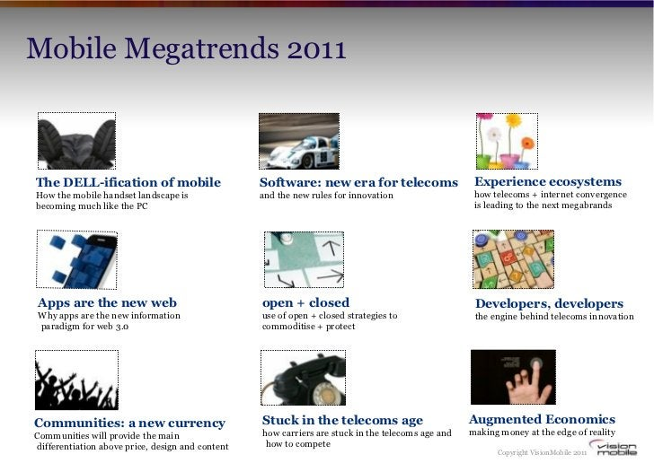 Mobile Megatrends 2011The DELL-ification of mobile                      Software: new era for telecoms                    ...