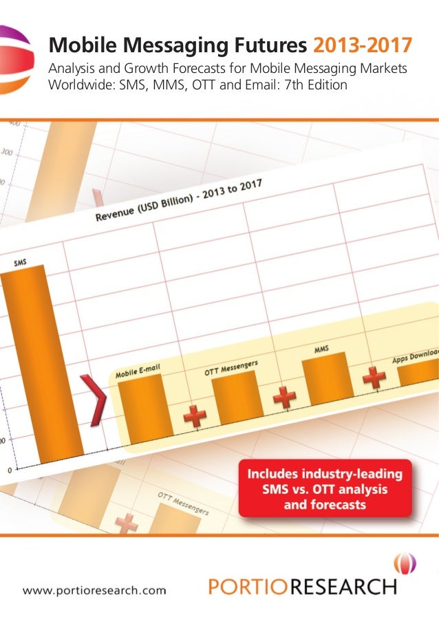 Mobile Messaging Futures 2013-2017 Analysis and Growth Forecasts for Mobile Messaging Markets Worldwide: SMS, MMS, OTT and...