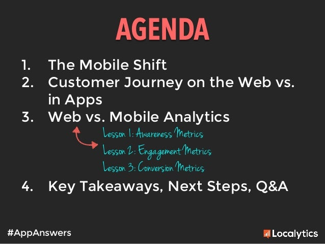 Mobile Metrics 101: Everything web marketers need to know about app analytics Slide 3