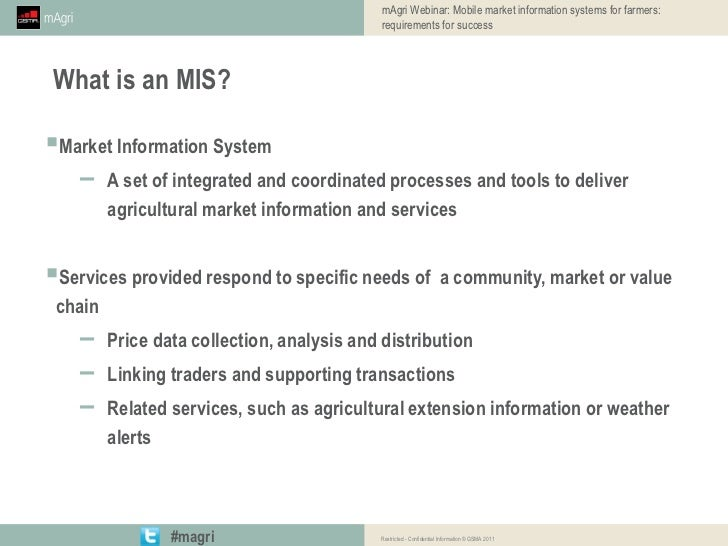 mAgri Webinar: Mobile market information systems for farmers: require…