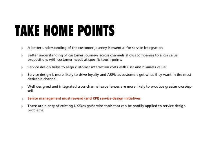 Mobile Service Design