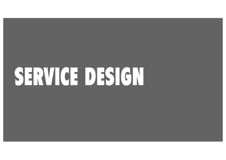 SERVICE DESIGN DEFINEDCopenhagen Institute of Design                Wikipedia                                   Frontier  ...