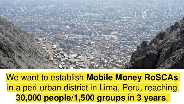 Mobile money savings groups Slide 2