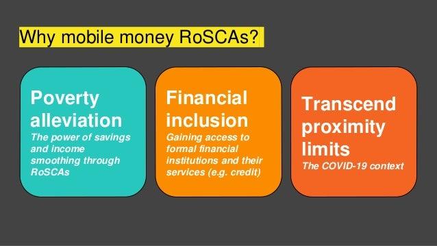 Mobile money savings groups Slide 3
