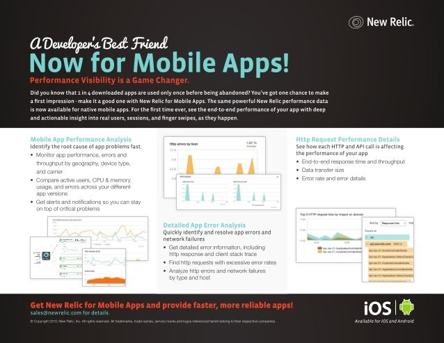 Mobile Monitoring with New Relic