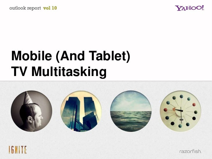 Mobile (And Tablet)TV Multitasking1