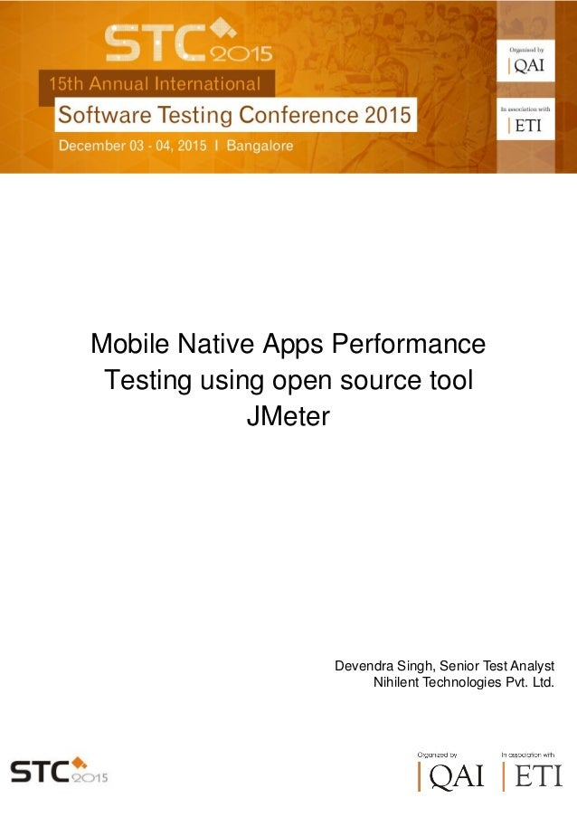 Mobile Apps Performance Testing Using Open Source Tool JMeter