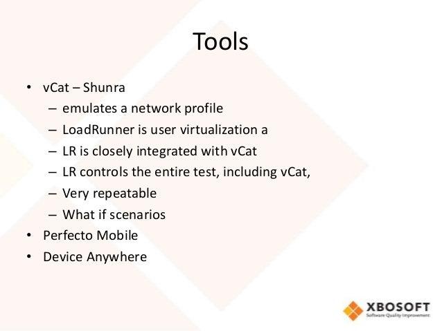 Mobile Network Performance Testing