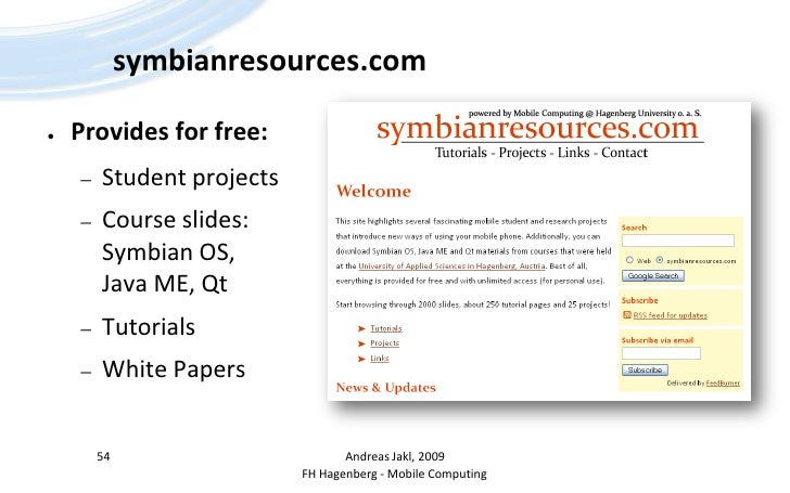 symbian os research paper The operating system of mobiles an open source like symbian operating system in this paper, we analyses the key features of the symbian to know its importance in some or the other field after studying symbian from history and knowing about all of its versions we have found that companies have been.