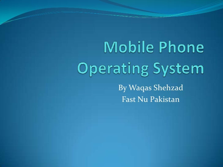 By Waqas Shehzad Fast Nu Pakistan