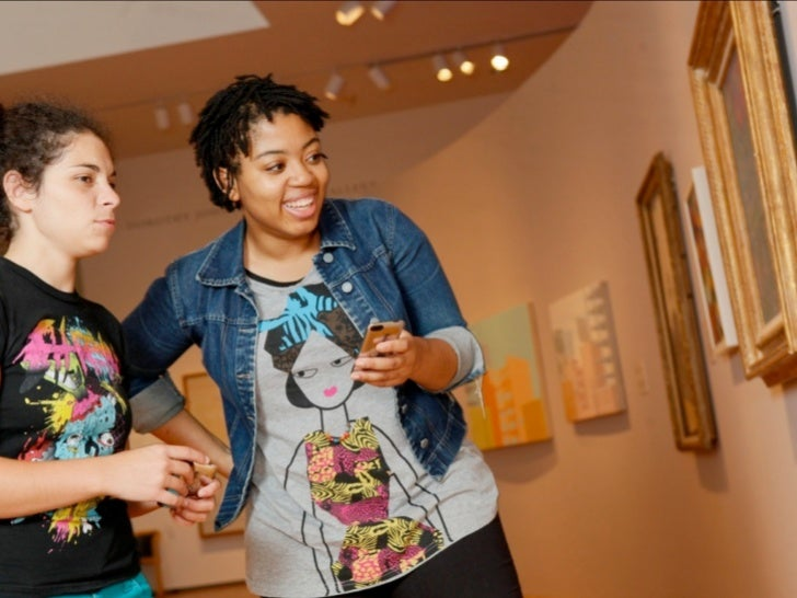 Art App-reciationFostering engagement and reflection in museums through a social-mobile                             applic...
