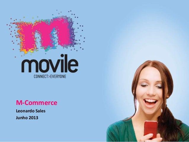 Simcard Redes Sociales M-Commerce Leonardo Sales Junho 2013